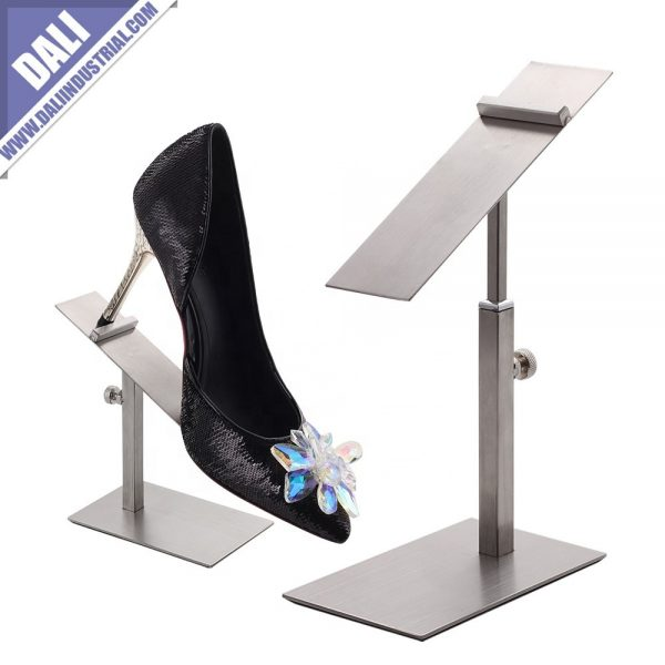Silver Shoe Display Stand
