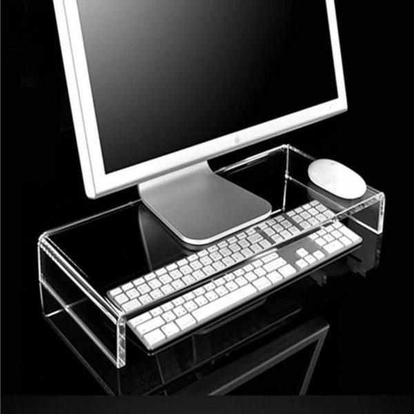 Acrylic Computer Monitor Display Stand