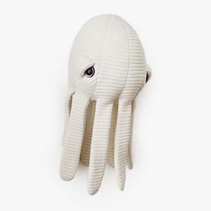 White Soft Animal Pillow Toy